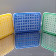 Blue pipette tips rack, Maxwell